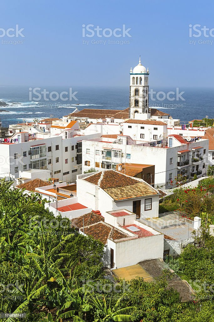 Garachico, Tenerife, Canary Islands royalty-free stock photo