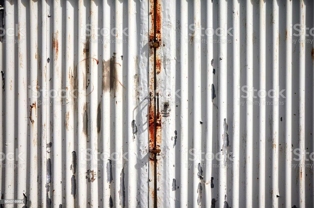Sinais De Parede Metal Corrugado-Laundry