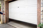 istock Garage door 1127815403