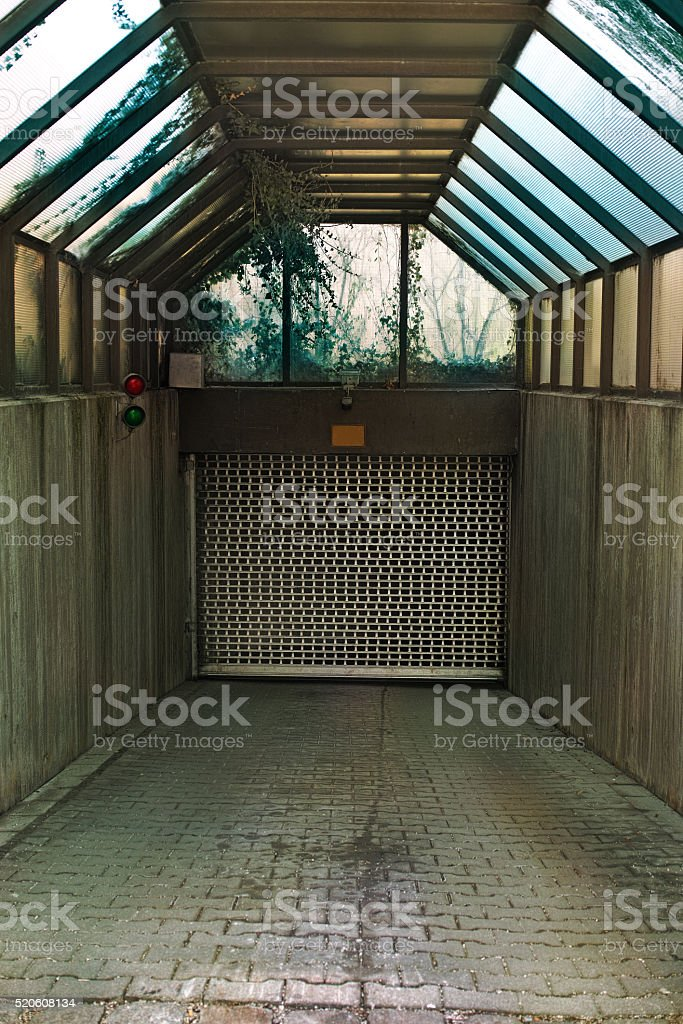 Garage Door royalty-free stock photo
