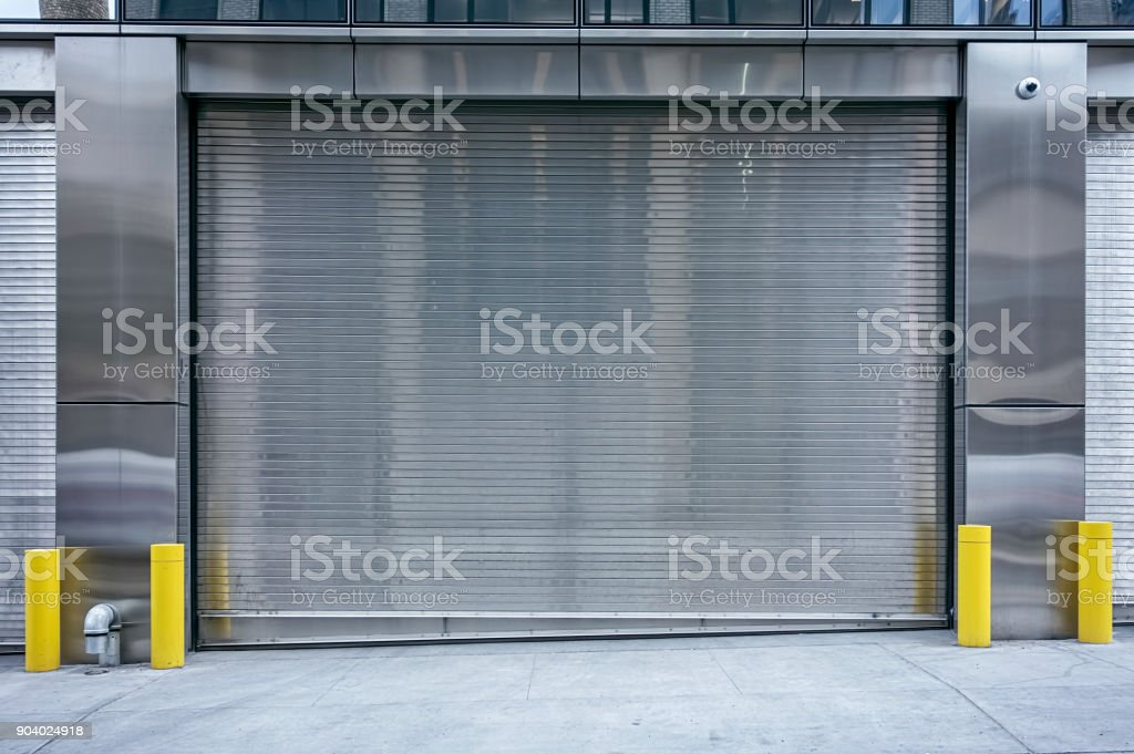 Genial Stainless Steel Garage Doors Pictures, Images And Stock Photos