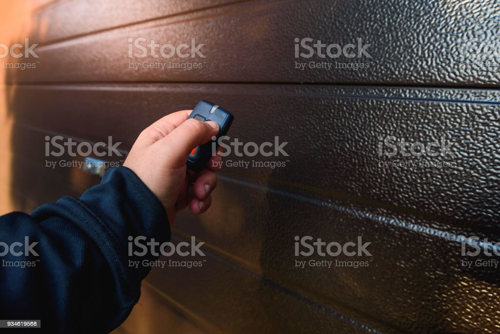 Garage door PVC royalty-free stock photo