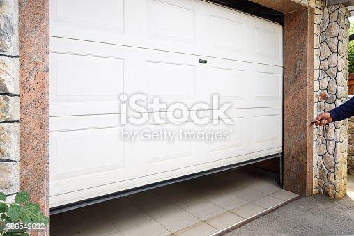 istock Garage door PVC 986542632