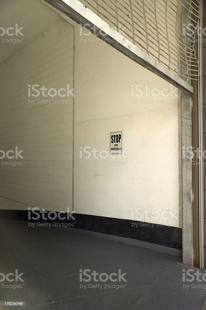 Garage Entrance royalty-free stock photo