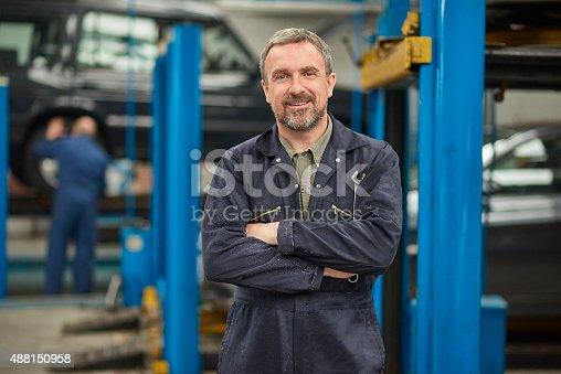 istock garage owner 488150958