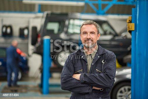 istock garage owner 488151494
