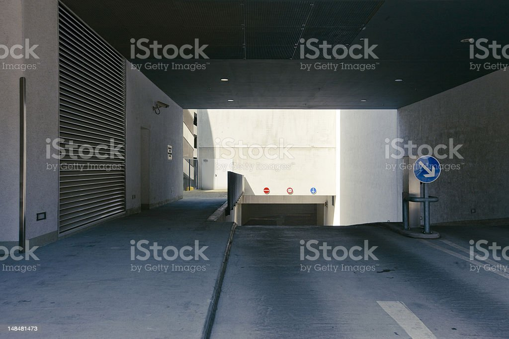 garage royalty-free stock photo