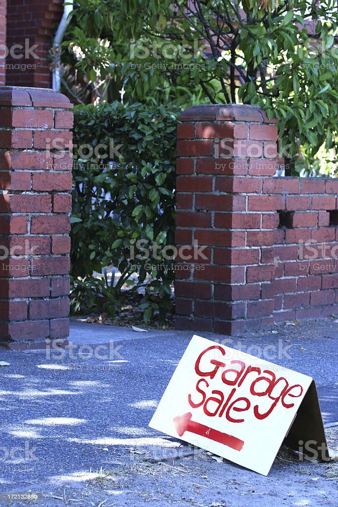 Garage Sale royalty-free stock photo