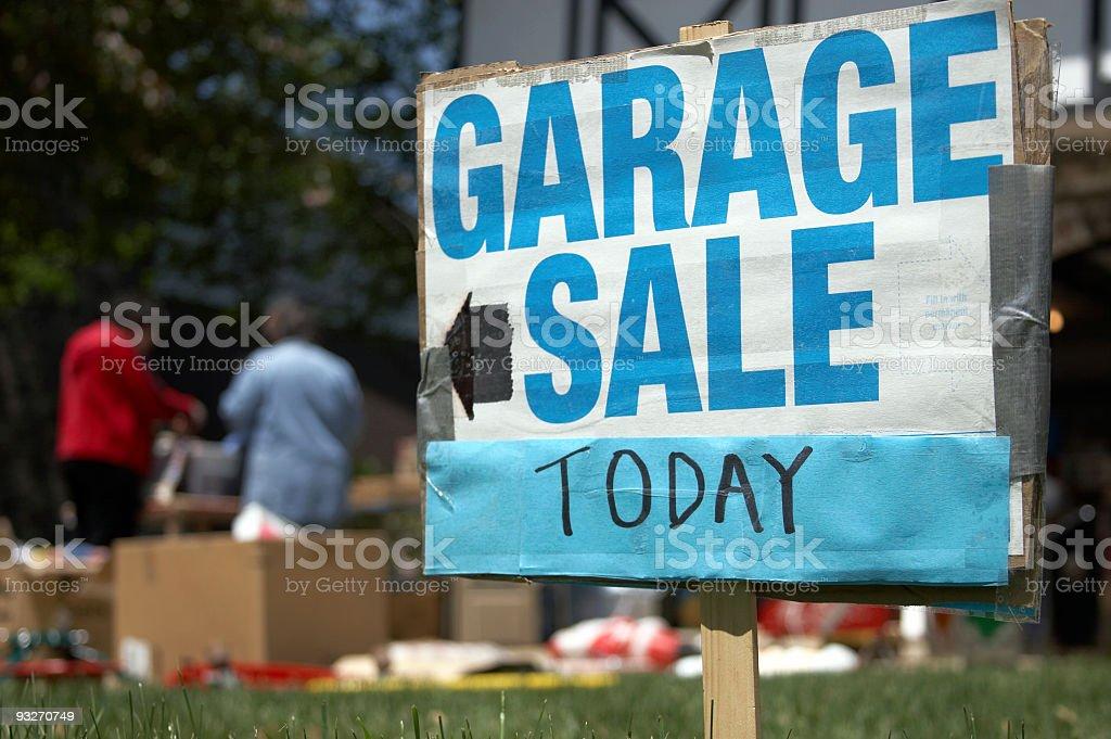 Garage Sale #1 royalty-free stock photo