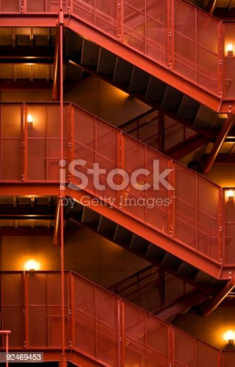istock Garage staircase 92469453