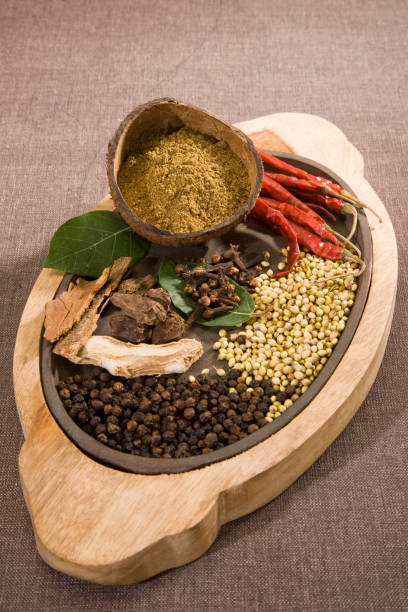 Garam Masala or Group of Indian Spices Garam Masala or Group of Indian Spices garam masala stock pictures, royalty-free photos & images