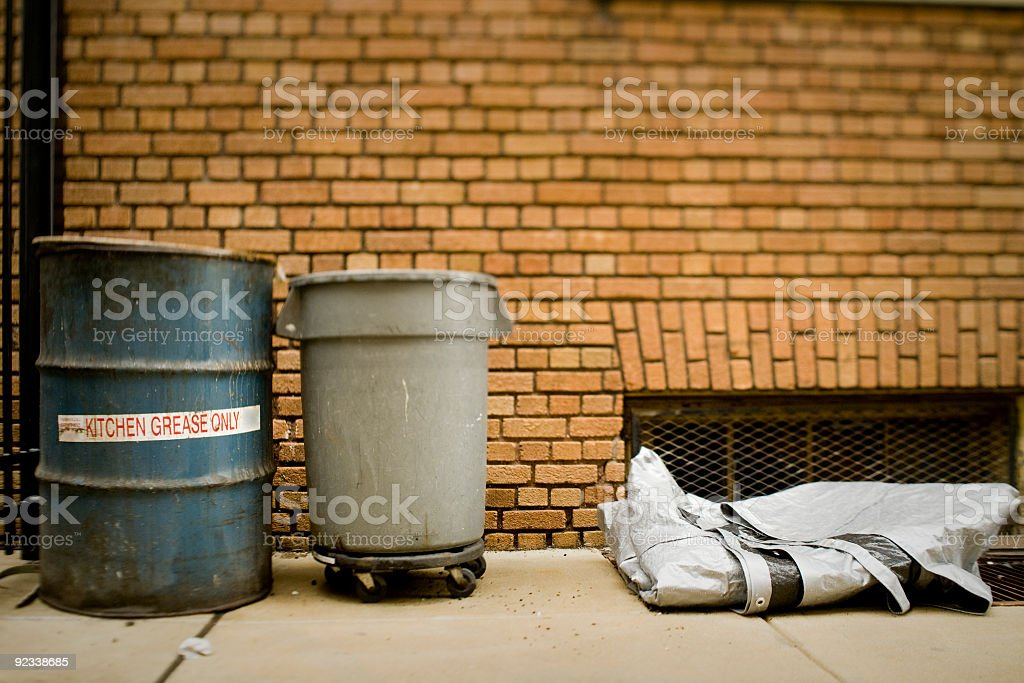 garbage and waste stock photo