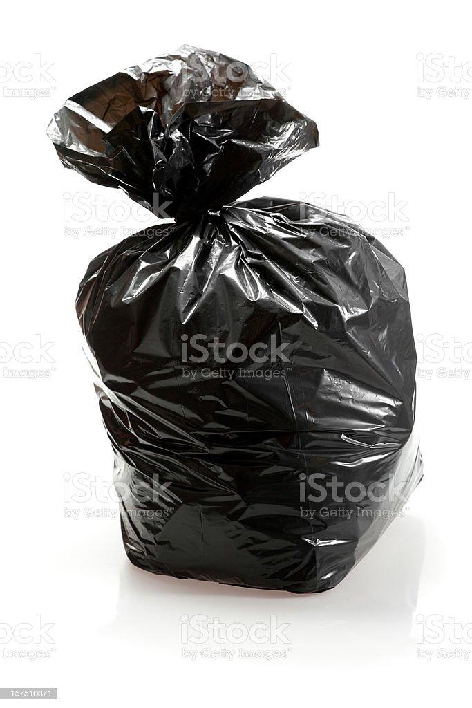 Garbage bag royalty-free stock photo