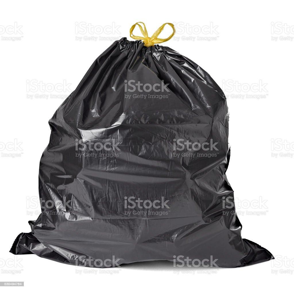 Müllsack mit leeren Flasche Müll Müll – Foto