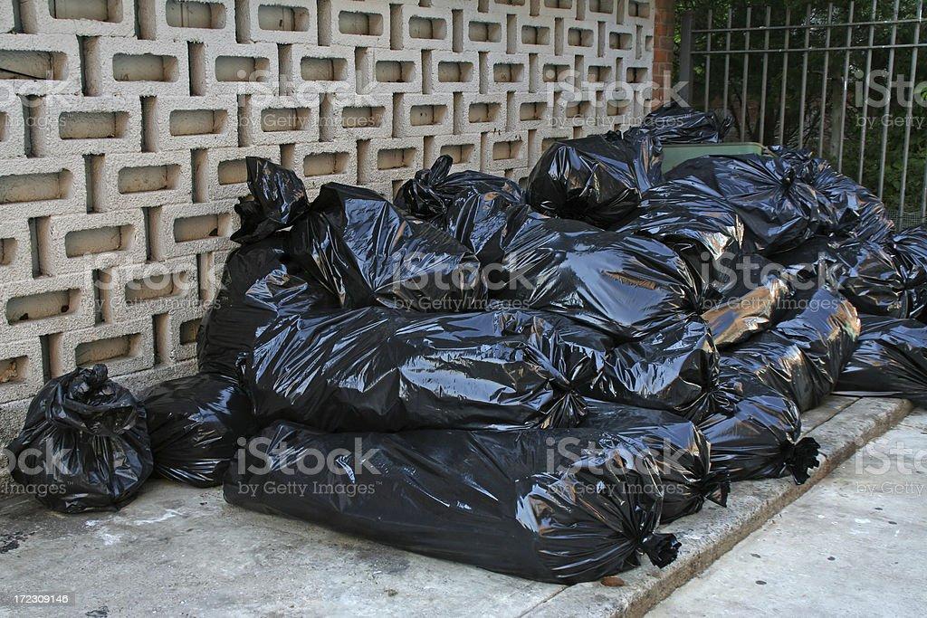 Garbage bags # 1 royalty-free stock photo