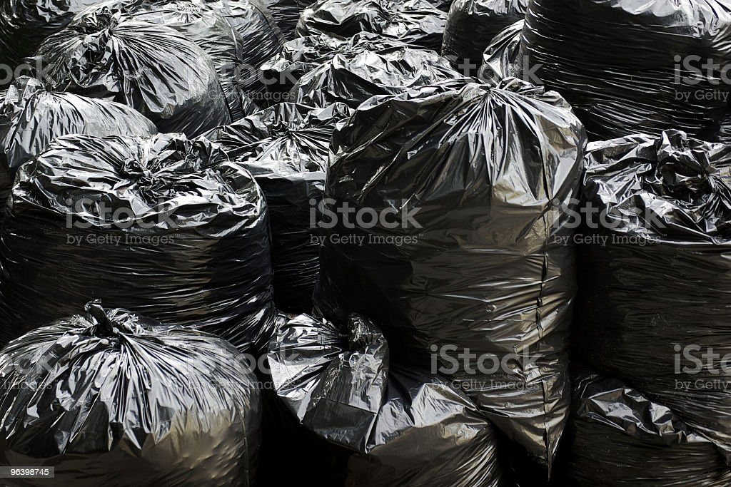garbage bags - Royalty-free Backgrounds Stock Photo