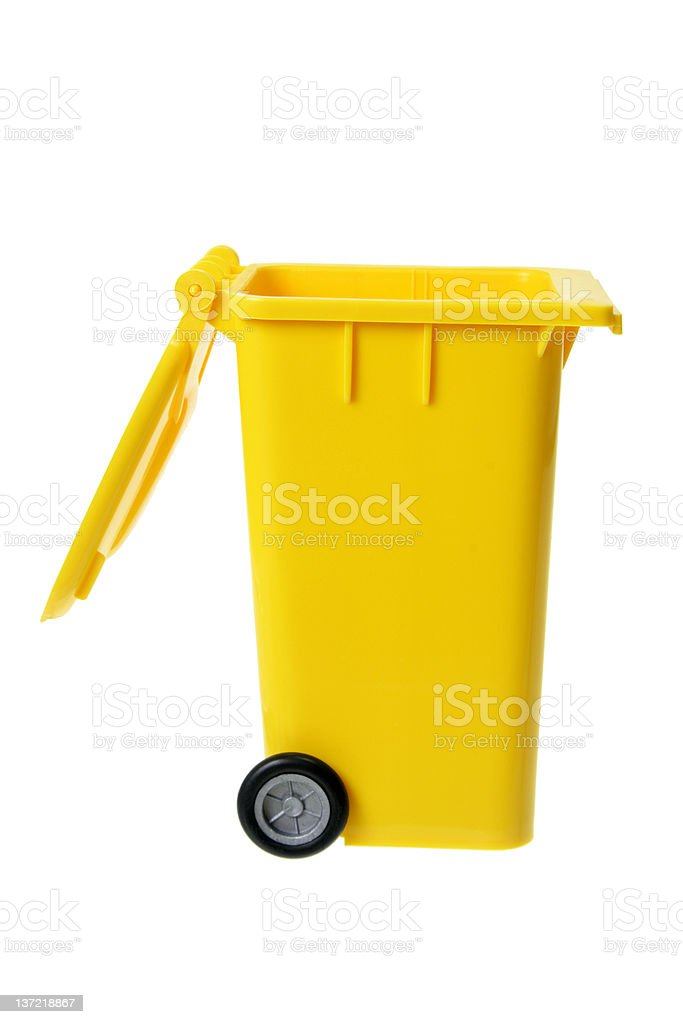 Garbage Bin royalty-free stock photo