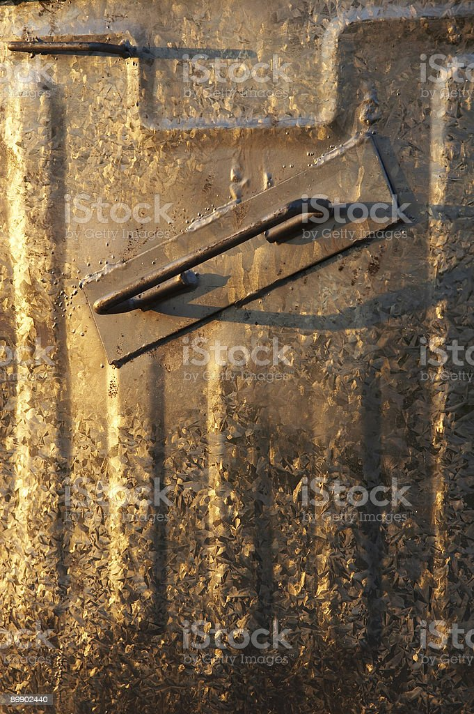 garbage container detail royalty-free stock photo