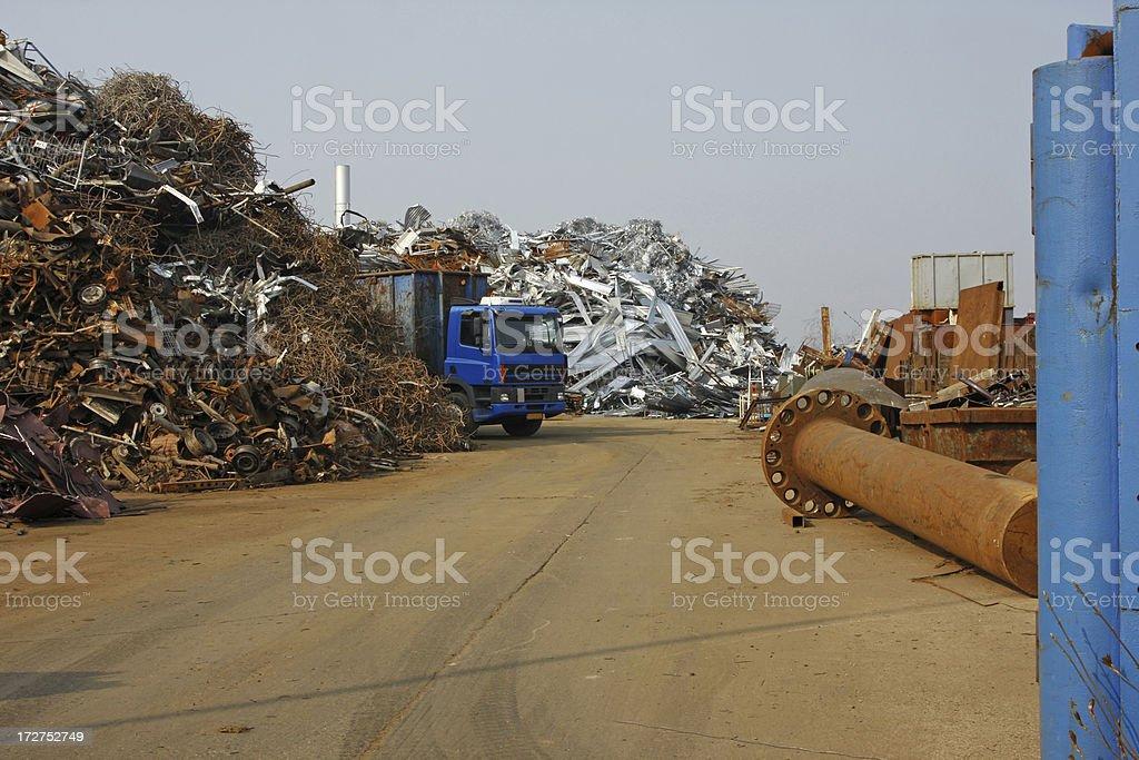 Garbage dump # 16 royalty-free stock photo