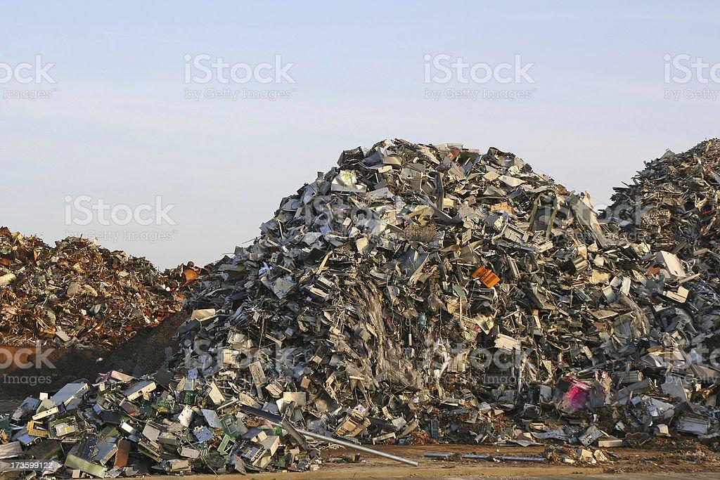 Garbage dump # 21 royalty-free stock photo