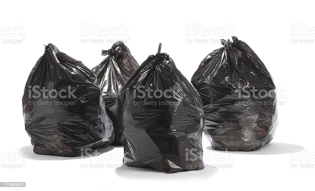 garbage gang stock photo