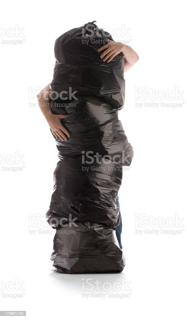 garbage grapple stock photo