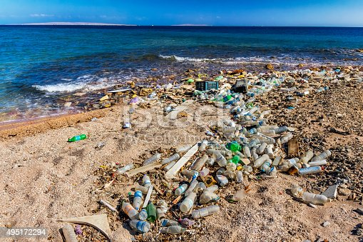 istock Garbage in the Beach 495172294