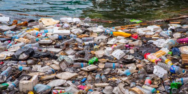 Müll im Wasser – Foto