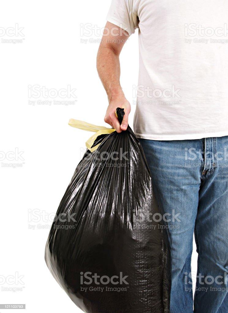 Garbage Man stock photo