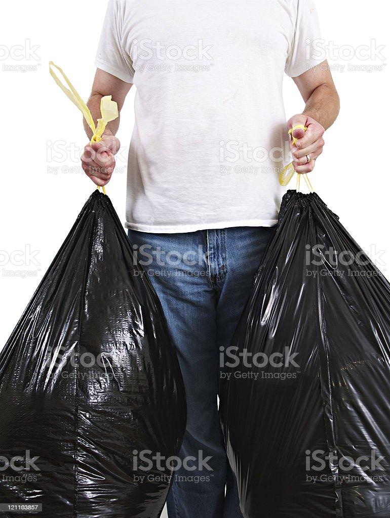 Garbage Man royalty-free stock photo