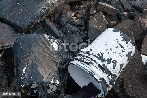 istock Garbage on the landfill 1083738718