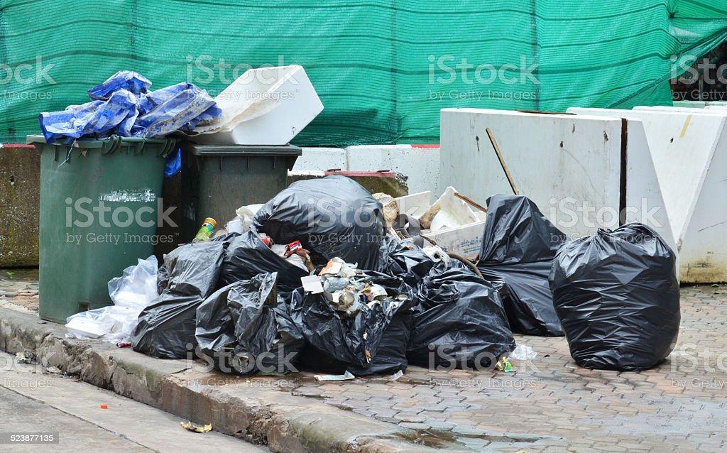 garbage stock photo