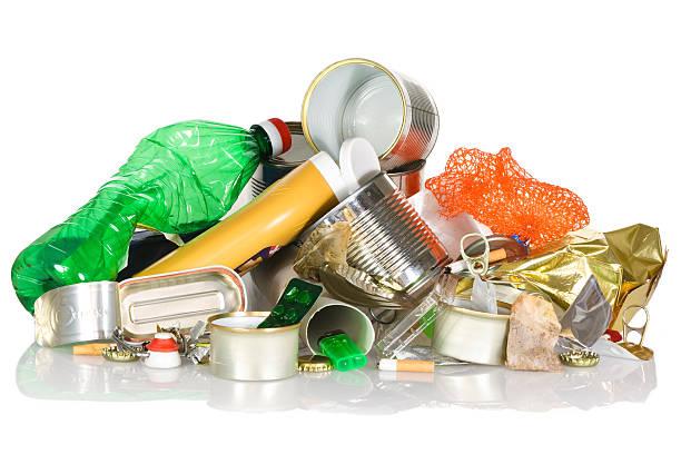 poubelle de recyclage - détritus photos et images de collection