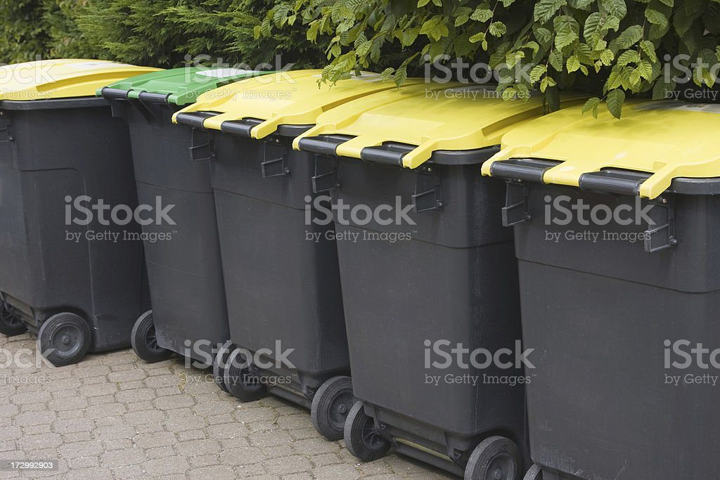Garbage XL royalty-free stock photo