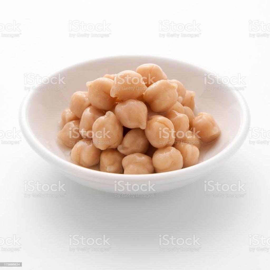 Garbanzo Beans royalty-free stock photo