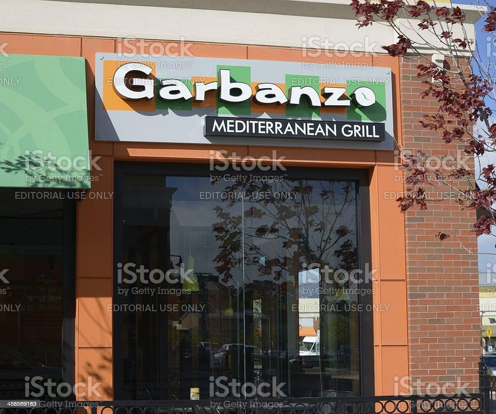 Garbanzo Mediterranean Grill royalty-free stock photo