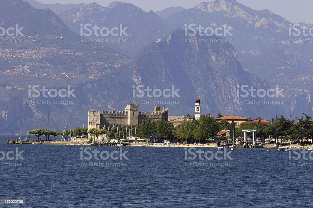 Garda Lake, Malcesine royalty-free stock photo