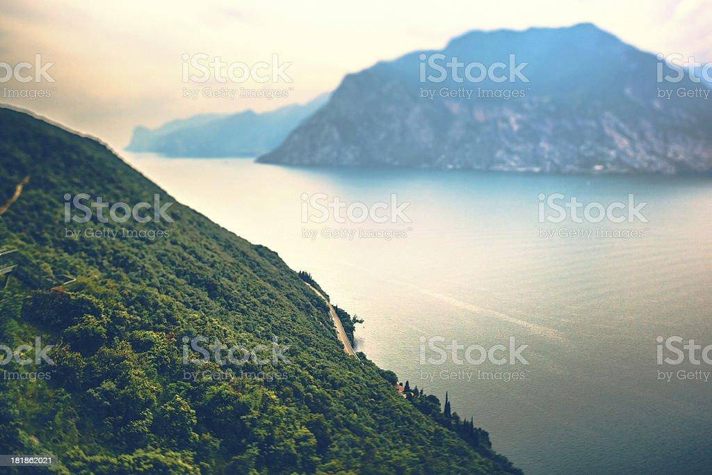 Garda Lake royalty-free stock photo