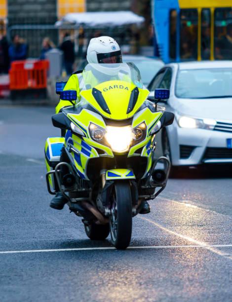 Garda officer on the motorbike, Dublin
