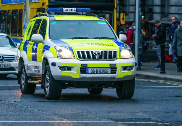 Garda vehicle, Dublin