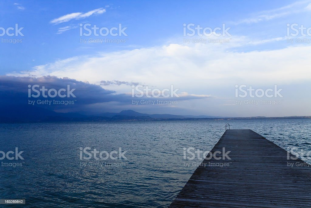 gardalake view royalty-free stock photo