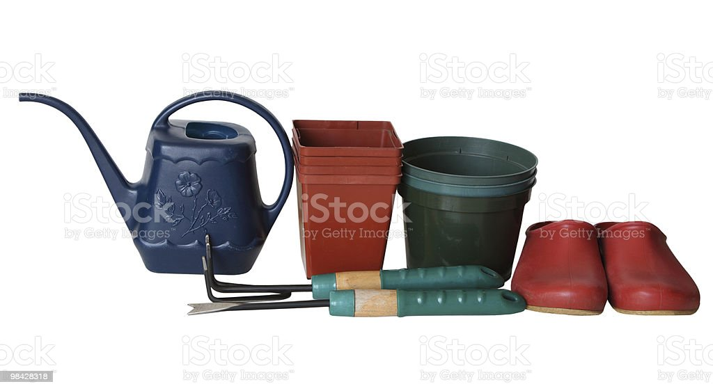 Garden Accessories royalty-free stock photo