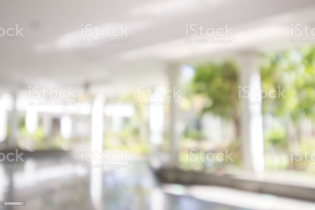 garden and home blurry background stock photo