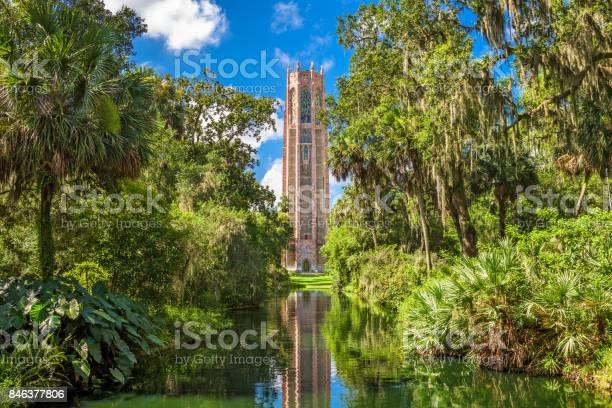 Lake Wales, Florida, USA at Bok Tower Gardens.