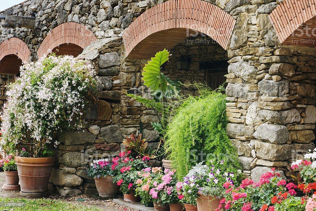 Garden Arches royalty-free stock photo