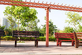 Garden Bench, Natural, indian atmosphere, site scene