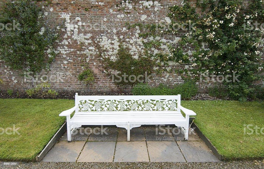 Сад скамейке Стоковые фото Стоковая фотография