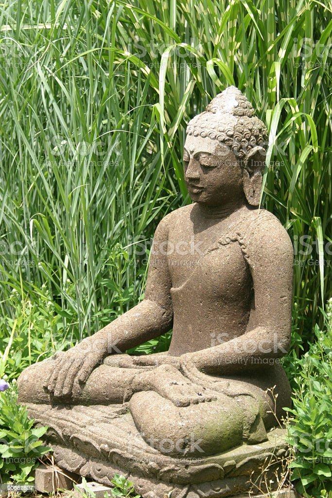 garden buddha royalty-free stock photo