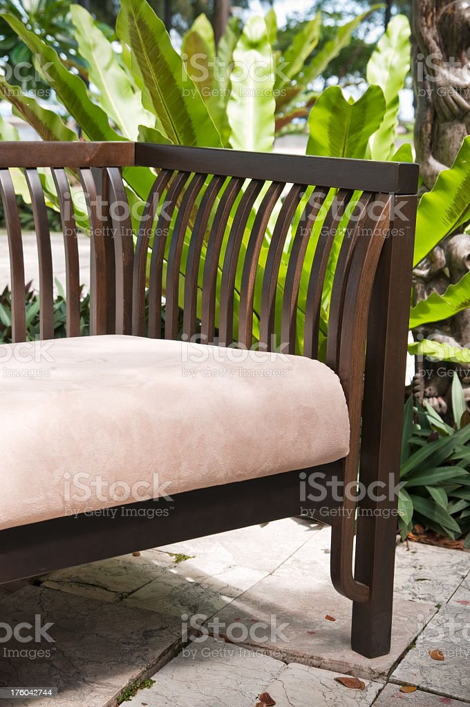Garden Chair royalty-free stock photo