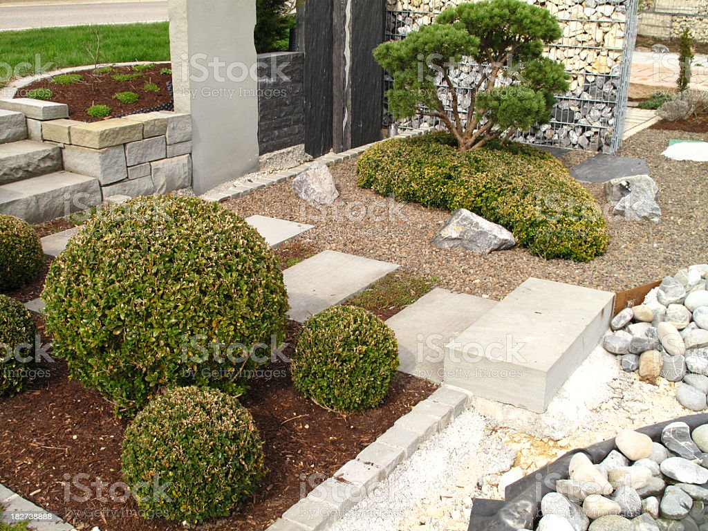 Garden design royalty-free stock photo